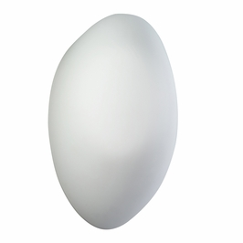 10631WH Kichler White Wall Sconce 1Lt Fluorescent Wall Light (DISCONTINUED ITEM!)