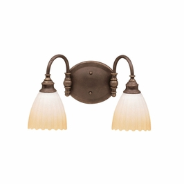 10642OZ Kichler Lighting Wall Mounted Bath Fixture in Olde Bronze (DISCONTINUED ITEM!)