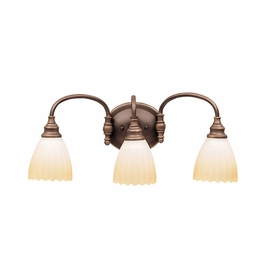 10643OZ Kichler Lighting Wall Mounted Bath Fixture in Olde Bronze (DISCONTINUED ITEM!)