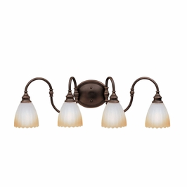 10644OZ Kichler Lighting Wall Mounted Bath Fixture in Olde Bronze (DISCONTINUED ITEM!)