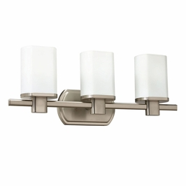 10667NI Kichler Lege Bath 3Lt Fluorescent Wall Mount 3 Arm (DISCONTINUED ITEM!)