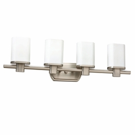 10668NI Kichler Lege Bath 4Lt Fluorescent Wall Mount 4 Arm (DISCONTINUED ITEM!)