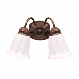 10672TZ Kichler Lighting Wall Mounted Bath Fixture in Tannery Bronze (DISCONTINUED ITEM!)