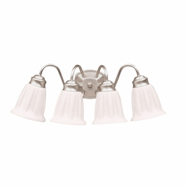 10674NI Kichler Lighting Wall Mounted Bath Fixture in Brushed Nickel (DISCONTINUED ITEM!)