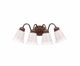 10674TZ Kichler Lighting Wall Mounted Bath Fixture in Tannery Bronze (DISCONTINUED ITEM!)