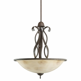 10717OI Kichler Lighting High Country Inverted Pendant in Old Iron (DISCONTINUED ITEM!)
