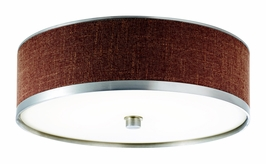 10803BAW Kichler Brushed Aluminum Flush-mount Small 1Lt Fluorescent Pira Ceiling Lights (DISCONTINUED ITEM!)