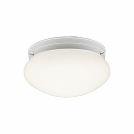 10808WH Kichler White Flush-mount 1Lt Fluorescent Ceiling Lights (DISCONTINUED ITEM!)
