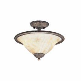 10819OI Kichler Lighting High Country Semi Flush Mount in Old Iron (DISCONTINUED ITEM!)