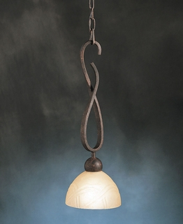 10841TZ Kichler Lighting Contours Mini Pendant in Tannery Bronze (DISCONTINUED ITEM!)