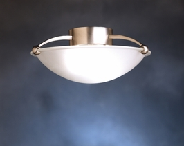 10858NI Kichler Lighting Fluorescent Ceiling in Brushed Nickel (DISCONTINUED ITEM!)