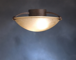 10858TZ Kichler Lighting SENNA Fluorescent Ceiling in Tannery Bronze (DISCONTINUED ITEM!)