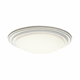 10866WH Kichler Builder Soft Contemporary-Casual Lifestyle 1 Light Flush Mount (DISCONTINUED ITEM!)