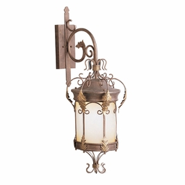 10919LZG Kichler Lighting Modesto Outdoor Wall Sconce in Legecy Bronze with Gold Highlight (DISCONTINUED ITEM!)