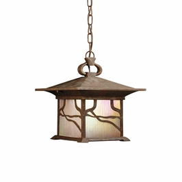 10921DCO Kichler Distressed Copper Outdoor Hanging 1Lt Fluorescent Morris (DISCONTINUED ITEM!)