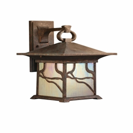 10930DCO Kichler Distressed Copper Outdoor Wall 1Lt Fluorescent Morris Outdoor (DISCONTINUED ITEM!)
