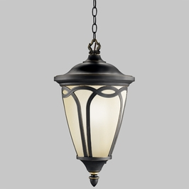 10936RNX Kichler Builder Outdoor Hanging 1 Light. Fluorescent (DISCONTINUED ITEM!)