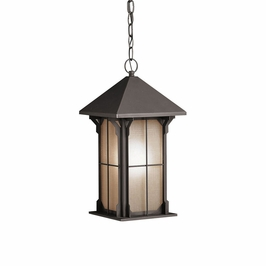 10965OZ Kichler Olde Bronze Outdoor Pendant 1Lt Fluorescent Astoria Outdoor (DISCONTINUED ITEM!)
