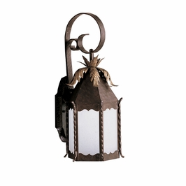 10973FZ Kichler Lighting Portolo Outdoor Wall Sconce in Franciscan Bronze (DISCONTINUED ITEM!)