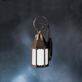 10974FZ Kichler Lighting Portolo Outdoor Wall Sconce in Franciscan Bronze (DISCONTINUED ITEM!)