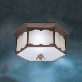 10978FZ Kichler Builder Flush Mount 3 Light Fluorescent (DISCONTINUED ITEM!)