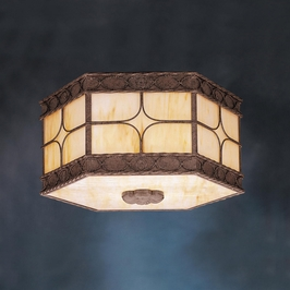 10979OI Kichler Builder Outdoor Ceiling 3 Light Fluoresce (DISCONTINUED ITEM!)