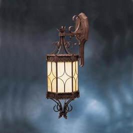 10983OI Kichler Lighting Palencia Outdoor Wall Sconce in Old Iron (DISCONTINUED ITEM!)
