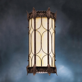 10985OI Kichler Lighting Palencia Outdoor Wall Sconce in Old Iron (DISCONTINUED ITEM!)