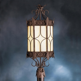 10988OI Kichler Lighting Palencia Outdoor Post Lantern in Old Iron (DISCONTINUED ITEM!)