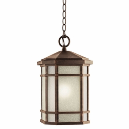11021PR Kichler Prairie Rock Outdoor Pendant 1Lt Fluorescent Cameron Outdoor (DISCONTINUED ITEM!)