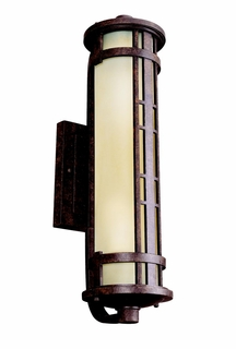 11038AGZ Kichler Aged Bronze Outdoor Wall 2Lt Fluorescent Aged Prairie Outdoor (DISCONTINUED ITEM!)