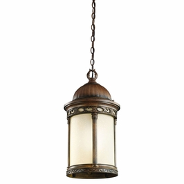 11058BST Kichler Brown Stone Outdoor Pendant 1Lt Fluorescent Corunna Outdoor (DISCONTINUED ITEM!)
