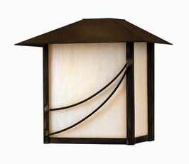 1108SN-DS Hinkley Lighting Mission Mini Dark Sky Outdoor Wall Sconce