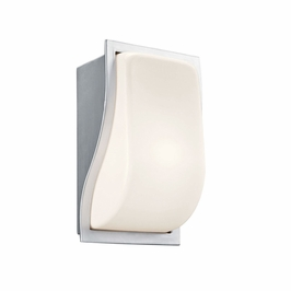 11096BA Kichler Soft Contemporary-Casual Lifestyle 1 Light Outdoor Sconce (DISCONTINUED ITEM!)