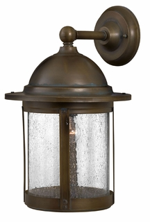 1164AS-DS Hinkley Lighting Edison Large Dark Sky Outdoor Wall Sconce