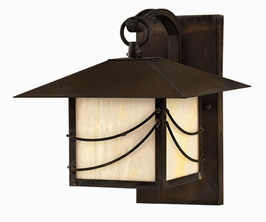 1170SN-DS Hinkley Lighting Mission Small Dark Sky Outdoor Wall Sconce