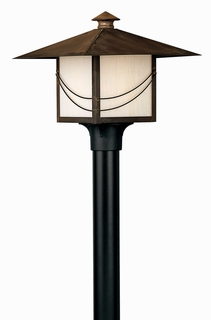 1171SN Hinkley Lighting Mission Medium Outdoor Post Light