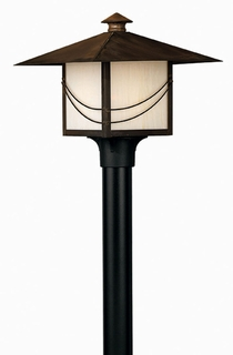 1171SN-ES Hinkley Lighting Mission Medium Energy Saving Outdoor Post Light