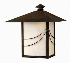 1174SN-DS Hinkley Lighting Mission Medium Dark Sky Outdoor Wall Sconce