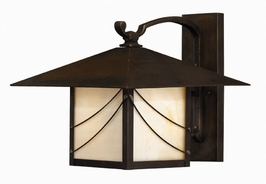 1175SN-ES Hinkley Lighting Mission Medium Energy Saving Outdoor Wall Sconce