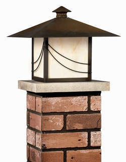 1179SN-R Hinkley Lighting Mission Pier Mount Outdoor