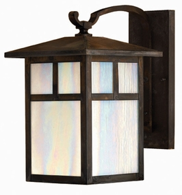 1196SN-DS Hinkley Lighting Pueblo Large Dark Sky Outdoor Wall Sconce