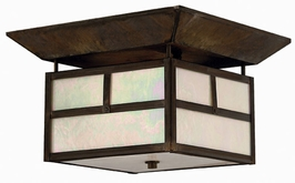 1199SN-ES Hinkley Lighting Pueblo Energy Saving Outdoor Flush Mount