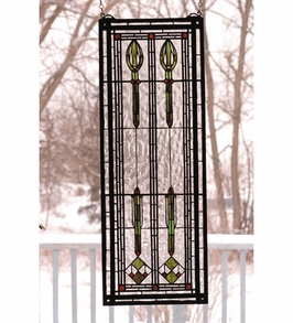 M68020-R Tiffany Stained Glass Windows (CLEARANCE ITEM)