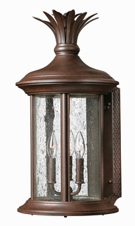 1225RK-ESDS Hinkley Lighting Cayo Costa Large Energy Saving Dark Sky Outdoor Wall Sconce