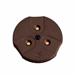 12310BRZ Kichler Brushed Bronze LED Puck Light 24V Modular LED Cabinet (DISCONTINUED ITEM!)