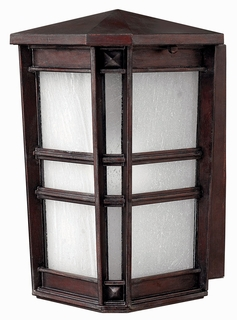 1260VZ Hinkley Lighting Park Ave Small Outdoor Wall Sconce