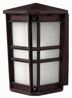 1260VZ-DS Hinkley Lighting Park Ave Small Dark Sky Outdoor Wall Sconce