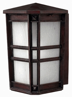 1260VZ-ESDS Hinkley Lighting Park Ave Small Energy Saving Dark Sky Outdoor Wall Sconce