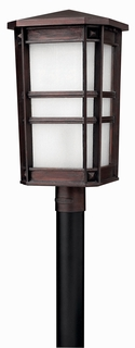 1261VZ Hinkley Lighting Park Ave Large Outdoor Post Light